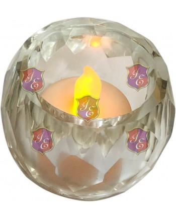 Crystal Cut Votive, Candelabras,Gold.