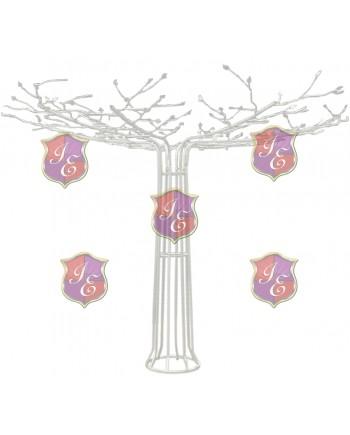 Metal Wire Tree (White)