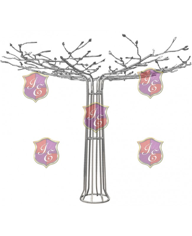Metal Wire Tree (Silver)