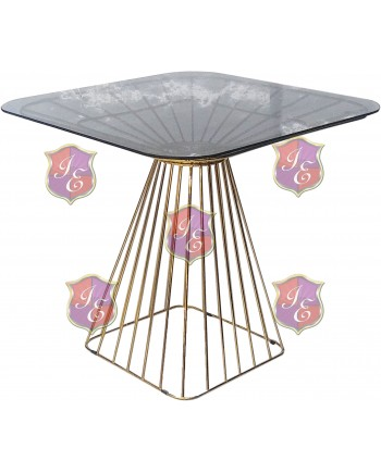 Wire Low top Table (Gold)