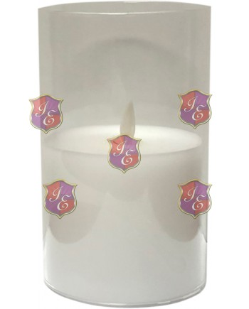 Pillar Candle (Small) 3AAA,Battery Candle,Ivory Tones
