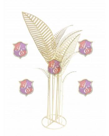 Metal Palm Tree (Gold)
