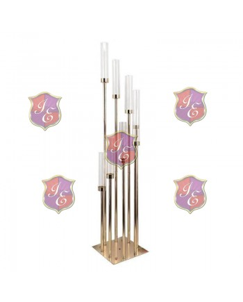 Reflection Candle Holder (Gold)