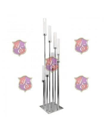 Reflection Candle Holder (Silver)