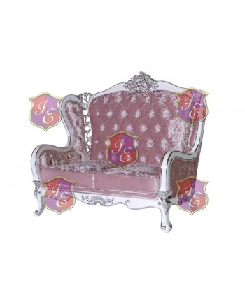 Monarch Love Seat (Light Pink)