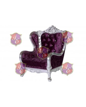 Monarch ArmChair (Eggplant)