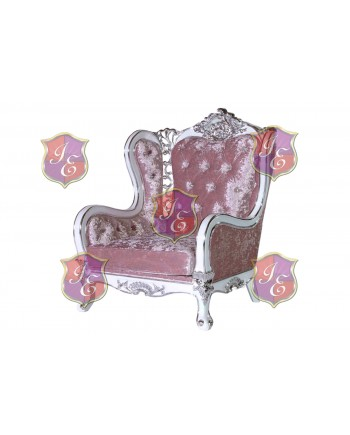 Monarch ArmChair  (Light Pink)