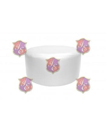"""Soho Coffee Table 30""""  (Round)(White)"""