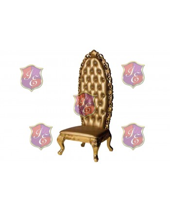 Empress Princess Chair (Gold)