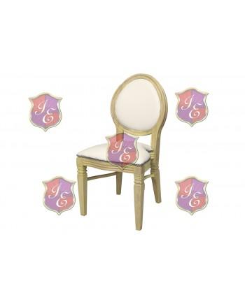 Chandelle Chair (Natural Frame Ivory Cushion)