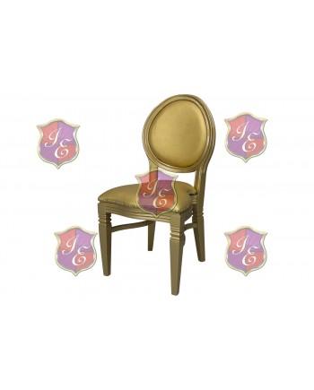Chandelle Chair (Gold)