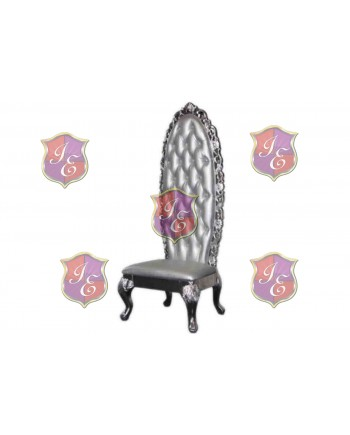 Empress Princess  Chair (Silver)