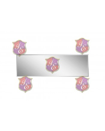 "Acrylic Mirror Top 30""x96"" (Rectangular)"
