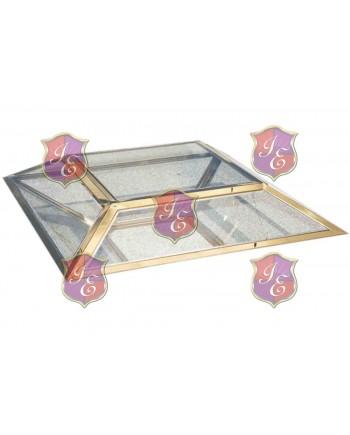 Reflection Coffee Table Diamond (Gold)
