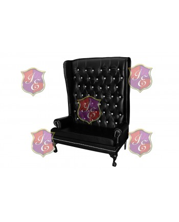 Imperial Love Seat (Black)