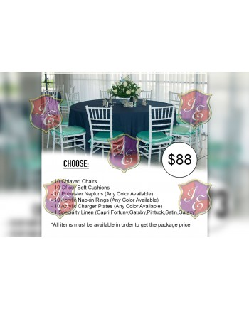 Advance Plus Package Rental ( For 10 People)