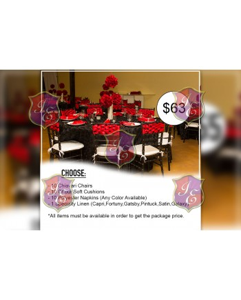 Advance Package Rental ( For 10 People)