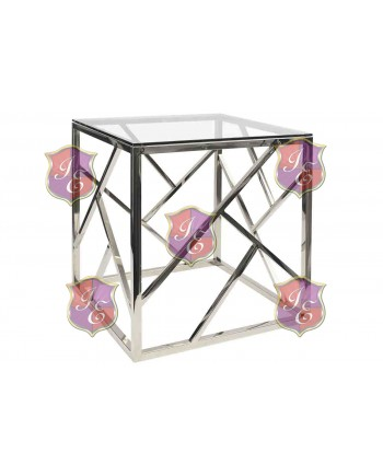 Reflection Coffee Table Web (Silver)