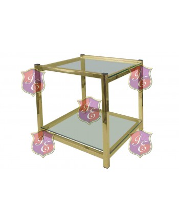 Reflection End Table Regular (Gold)