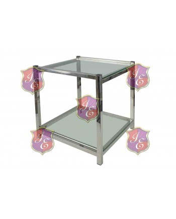 Reflection End Table Regular (Silver)