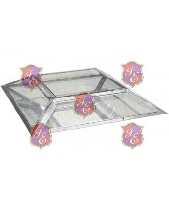 Reflection Coffee Table Diamond (Silver)