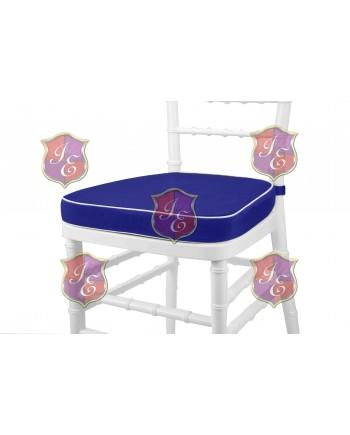 Maze Cushion (Royal Blue)