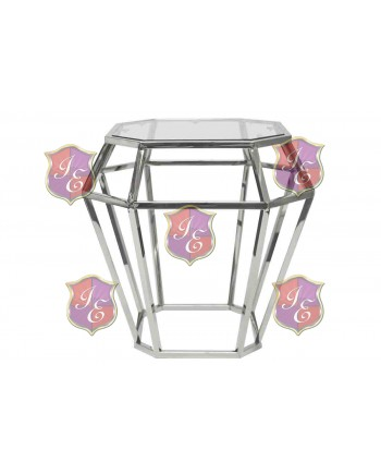 Reflection End Table Gem (Silver)