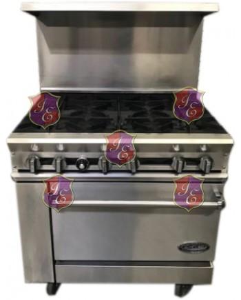 6 Burner Oven