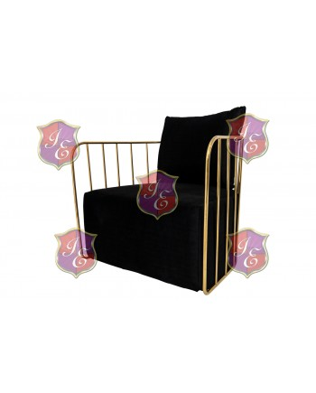 Reflection Accent Chair Bars (Gold-Black)