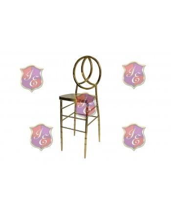 Infinity Barstool (Gold)