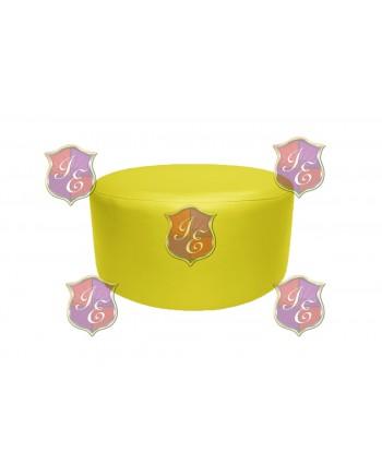 "Soho Coffee Table 30""  (Round)(Yellow)"