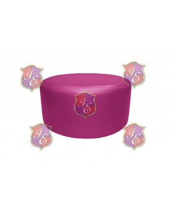 """Soho Coffee Table 30""""  (Round)(Hot Pink)"""