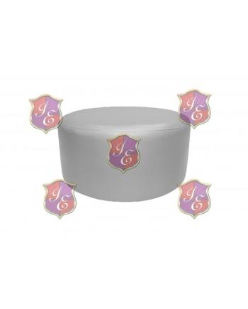 "Soho Coffee Table 30""  (Round)(Silver)"
