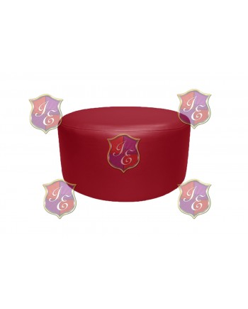 """Soho Coffee Table 30""""  (Round)(Red)"""