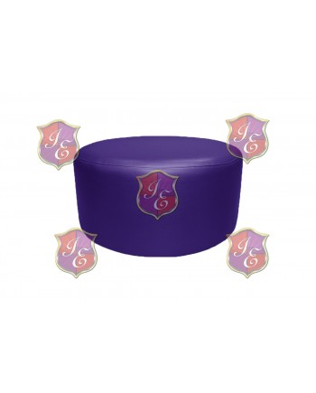 "Soho Coffee Table 30""  (Round)(Purple)"