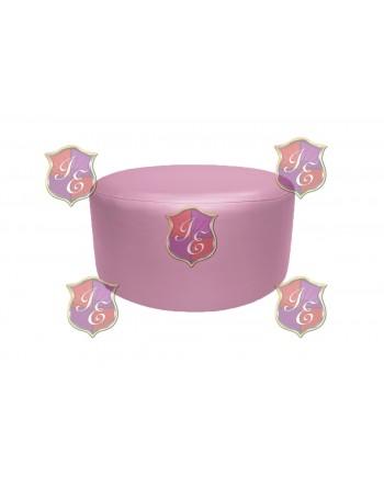 "Soho Coffee Table 30""  (Round)(Light Pink)"