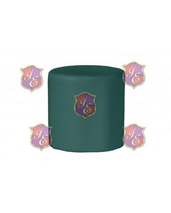 Soho Ottoman (Round)(Green)