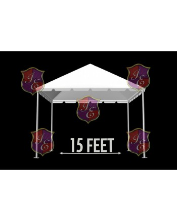 """Tent 15""""x 15"""" (Clear)"""