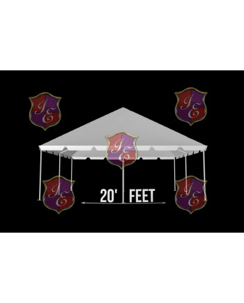 """Tent 20""""x 50"""" (Clear)"""