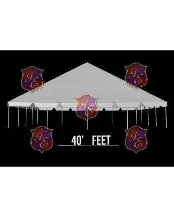 "Tent 40""x 70"""