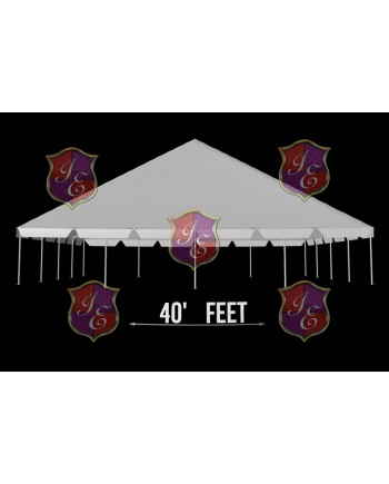 """Tent 40""""x 60"""" (Clear)"""