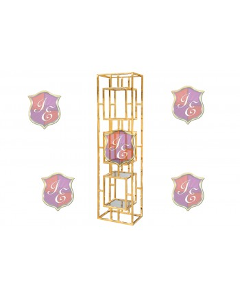Reflection Bar Back Cannes (Gold) (Small)