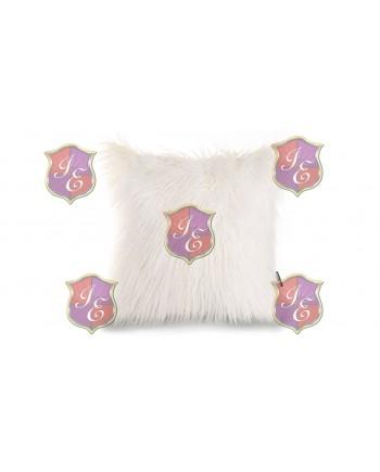 Faux Fur Pillow (White)