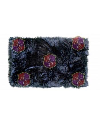 Faux Fur Carpet (Black)