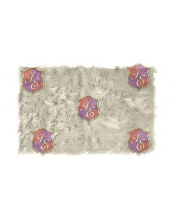 Faux Fur Carpet (Ivory)