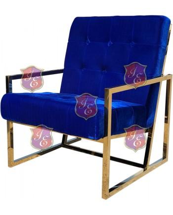 Reflection Rain Armchair (Gold - Royal Tufted)