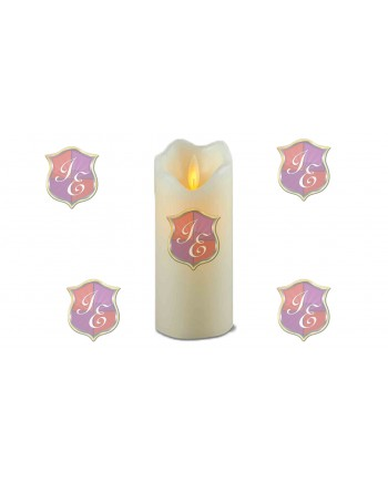 Pillar Candle (Large),Moving Flame Effect