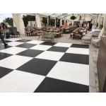 Dance Floor Black Matte Indoor 4'x4' (FICO)