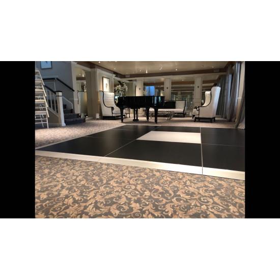 Dance Floor White Matte Indoor 4'x4' (FICO)
