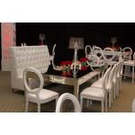 Glitz Love Seat (White)